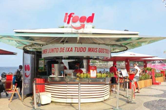 Quiosque na orla do Rio – Divulgação iFood