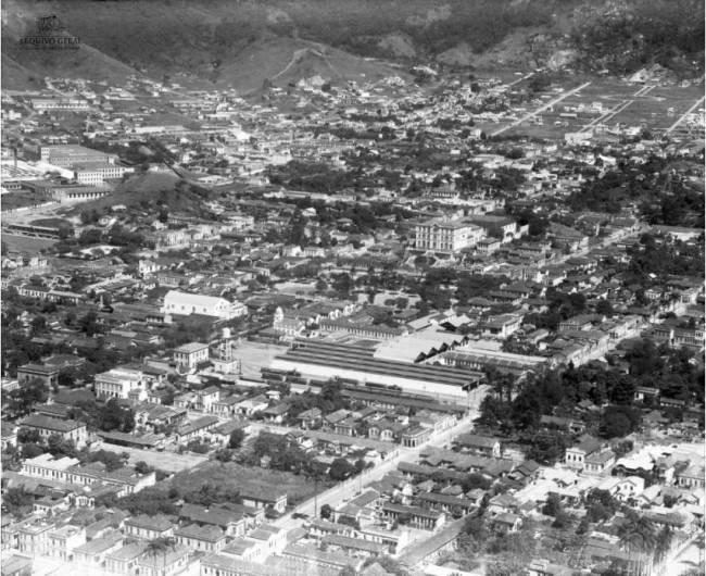 Foto antiga, mas sem data a ligação entre os bairros de Vila Isabel e Andaraí