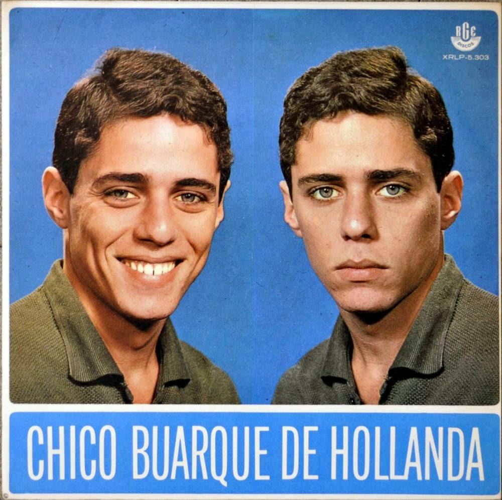 Chico Buarque na capa de seu primeiro disco: imagem teve uso indevido e virou