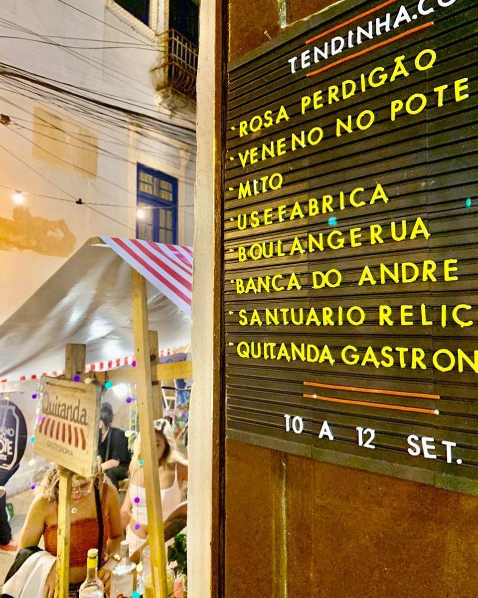 As atrações em cartaz atualmente: do acarajé ao café