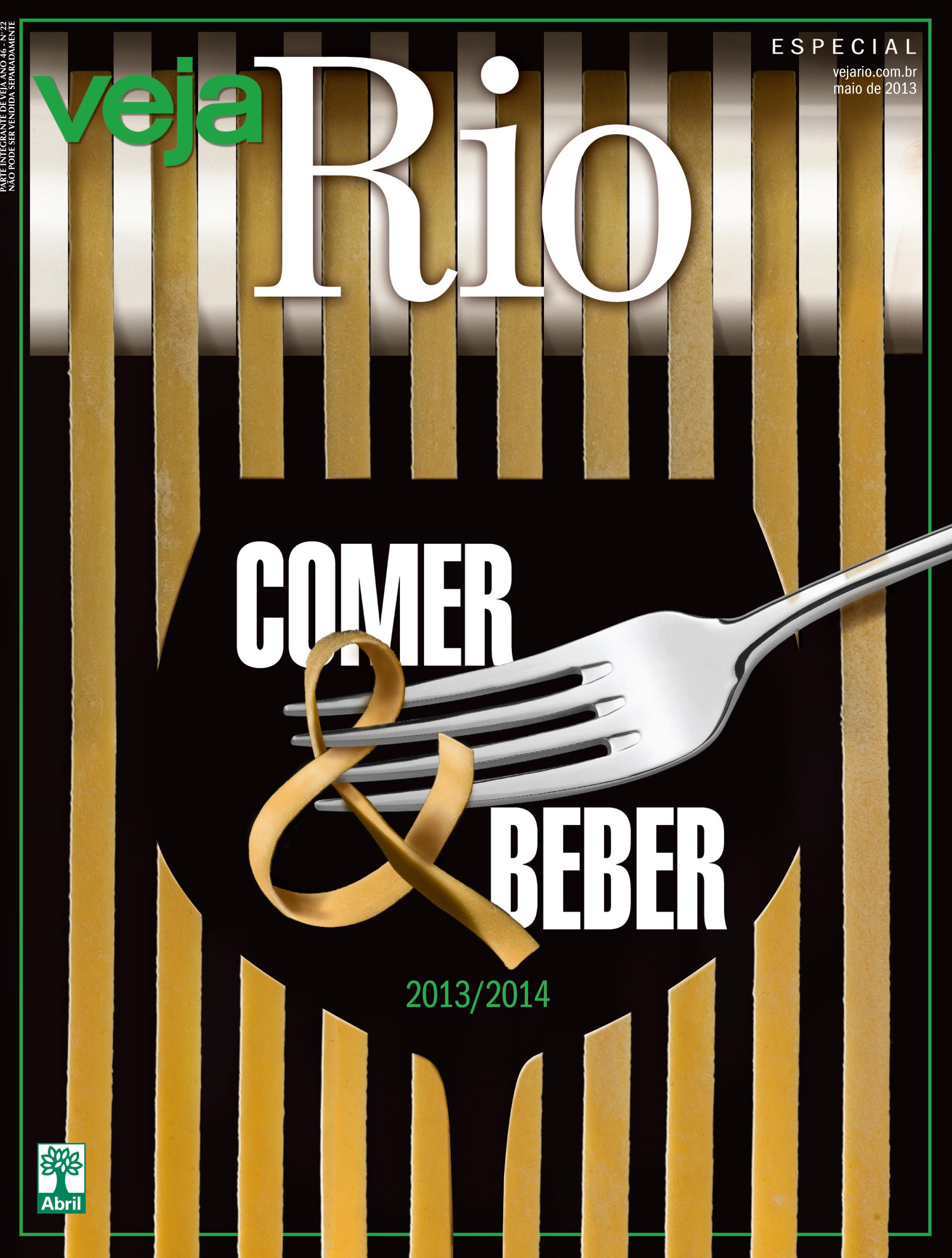 Capa da revista Veja Rio Comer e Beber, de 29 de maio de 2013