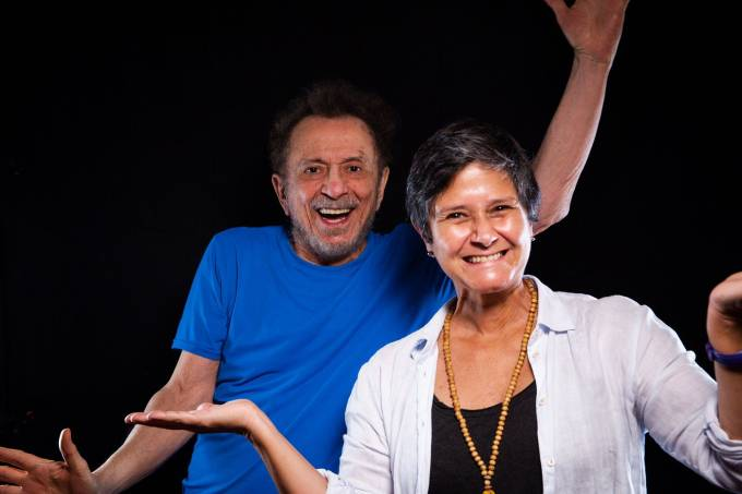 Tom Zé e Patrícia Palumbo